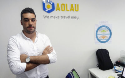 Alberto Moreno, fundador de Baolau, un portal que ayuda a organiar viajes por Vietnam y a comprar billetes, posa para Efe. El optimismo económico, el fuerte desarrollo tecnológico y la juventud de su población han convertido a Vietnam en un campo fértil para el crecimiento de nuevas empresas tecnológicas. EFE/Eric San Juan